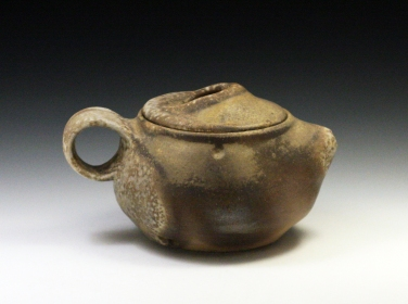 """Porcelain, Wood Fired and Reduction Cooled, 4 x 6 x 4.5"""""""