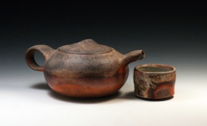 Porcelain, Wood Fired and Reduction Cooled, Dimensions Vary